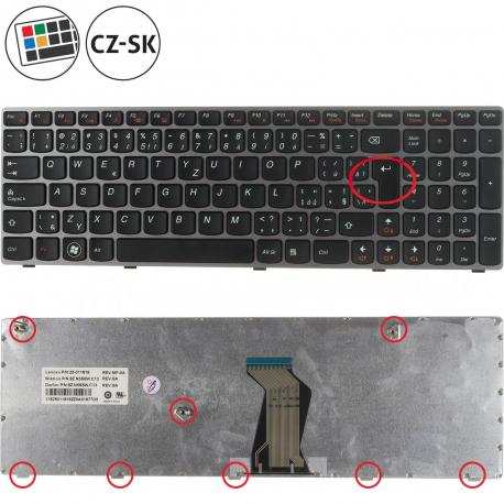 Lenovo V570 Klávesnice pro notebook - CZ / SK + zprostředkování servisu v ČR