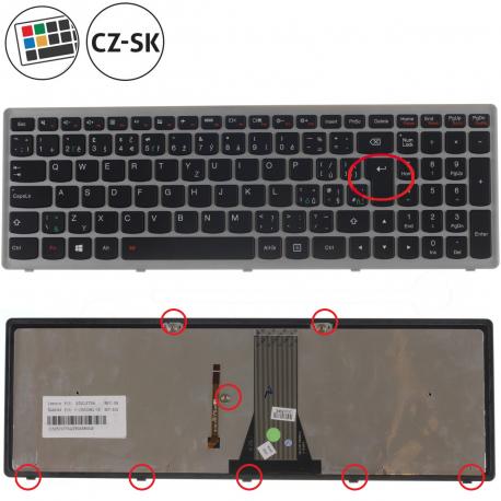Lenovo IdeaPad G510s Klávesnice pro notebook - CZ / SK + doprava zdarma + zprostředkování servisu v ČR