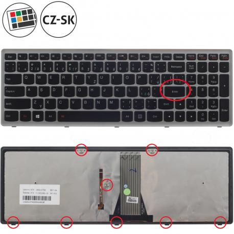 Lenovo IdeaPad Z510A Klávesnice pro notebook - CZ / SK + doprava zdarma + zprostředkování servisu v ČR