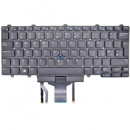 Dell Latitude E7250 Klávesnice pro notebook - anglická - UK + zprostředkování servisu v ČR