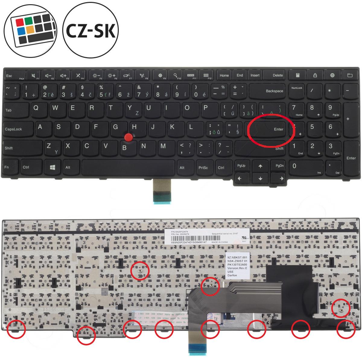 Lenovo ThinkPad T540p Keyboard