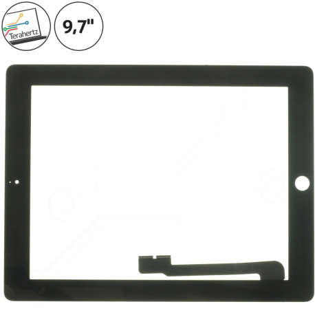 Apple iPad 3 Dotykové sklo pro tablet - 9,7 černá + zprostředkování servisu v ČR