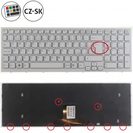 Sony Vaio VPC-EB4J1E Klávesnice pro notebook - CZ / SK + zprostředkování servisu v ČR