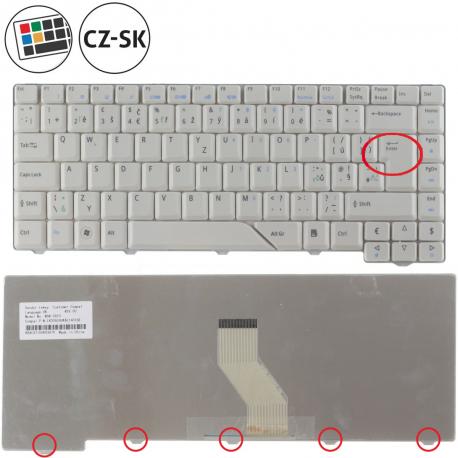 Acer Aspire 5720ZG Klávesnice pro notebook - CZ / SK + zprostředkování servisu v ČR