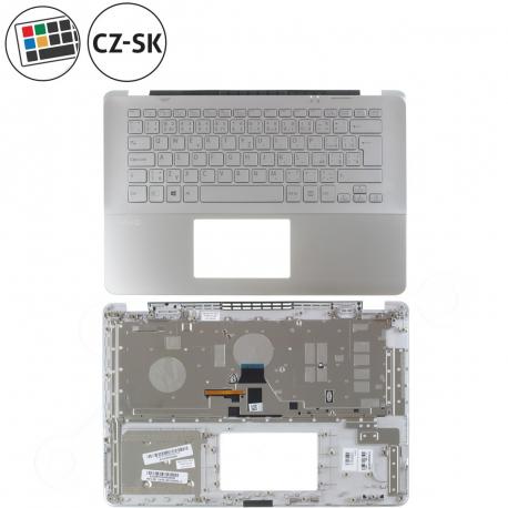 Sony Vaio SVF14A1M2ES Klávesnice s palmrestem pro notebook + doprava zdarma + zprostředkování servisu v ČR