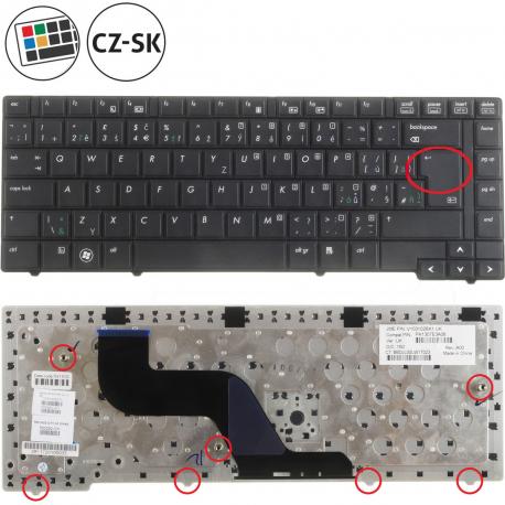 HP ProBook 6450b Klávesnice pro notebook - CZ / SK + zprostředkování servisu v ČR