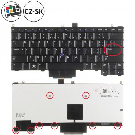 Dell Latitude E4310 Klávesnice pro notebook - CZ / SK + doprava zdarma + zprostředkování servisu v ČR