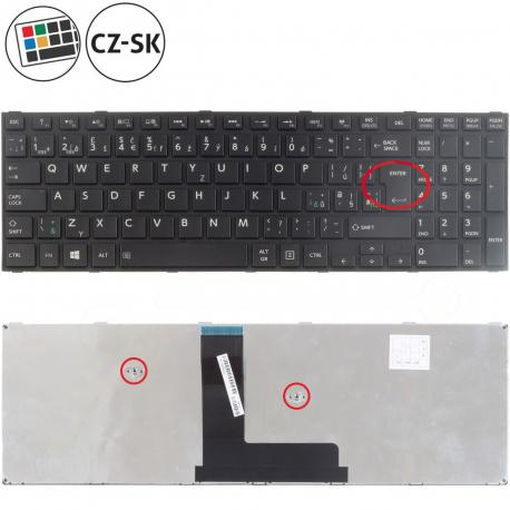 Toshiba Satellite Pro R50-B Klávesnice pro notebook - CZ / SK + doprava zdarma + zprostředkování servisu v ČR