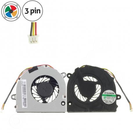 LENOVO IDEAPAD G455 Ventilátor pro notebook - 3 piny metalic / plastic 3 díry na šroubky + zprostředkování servisu v ČR