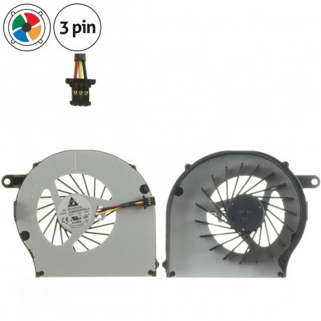 HP G62 Ventilátor pro notebook - 3 piny metalic / plastic + zprostředkování servisu v ČR