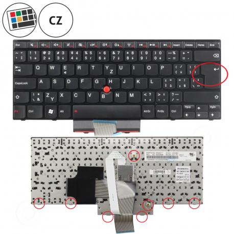 Lenovo ThinkPad Edge E420s Klávesnice pro notebook - CZ + doprava zdarma + zprostředkování servisu v ČR