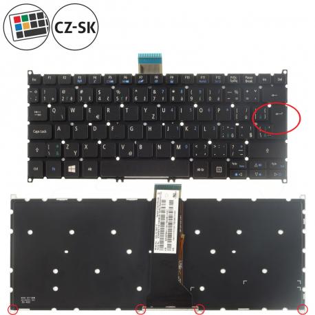 Acer Aspire V5-122P Klávesnice pro notebook - CZ / SK + zprostředkování servisu v ČR