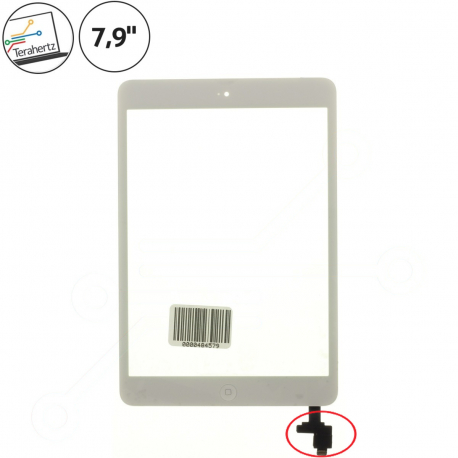 Apple iPad mini A1454 Dotykové sklo pro tablet - bílá + doprava zdarma + zprostředkování servisu v ČR