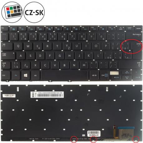 Samsung NP730U3E Klávesnice pro notebook - CZ / SK + doprava zdarma + zprostředkování servisu v ČR