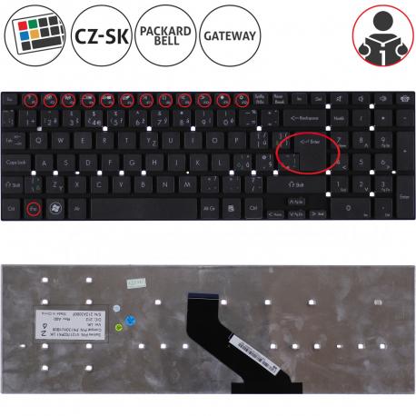 Acer Aspire E5-521 Klávesnice pro notebook - CZ / SK + zprostředkování servisu v ČR
