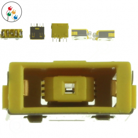 Lenovo IdeaPad Yoga 13 Napájecí konektor - dc jack pro notebook - 5 pinů bez připojovacího kabelu + zprostředkování servisu v ČR