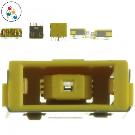 Lenovo IdeaPad S500 Napájecí konektor - dc jack pro notebook - 5 pinů bez připojovacího kabelu + zprostředkování servisu v ČR