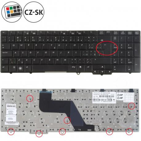 HP ProBook 6555b Klávesnice pro notebook - CZ / SK + doprava zdarma + zprostředkování servisu v ČR