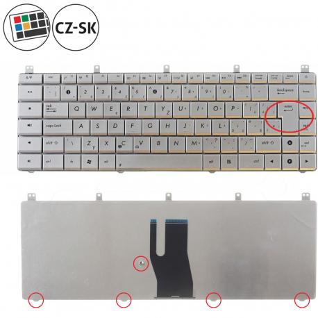 Asus N45SF Klávesnice pro notebook - CZ / SK + doprava zdarma + zprostředkování servisu v ČR