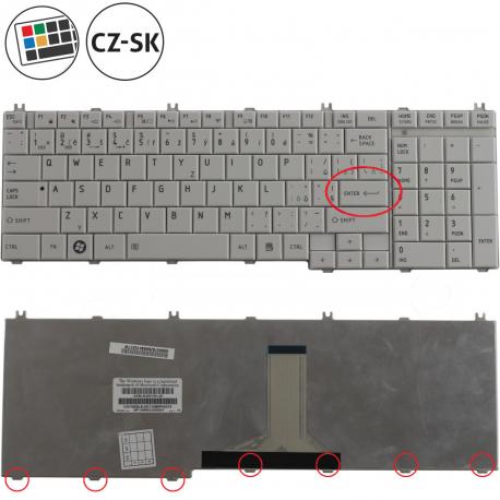 Toshiba Satellite L750D-10D Klávesnice pro notebook - CZ / SK + zprostředkování servisu v ČR