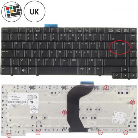 HP Compaq 6735s Klávesnice pro notebook - anglická - UK + zprostředkování servisu v ČR