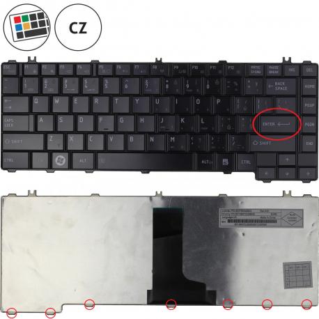 Toshiba Satellite L630 Klávesnice pro notebook - CZ + zprostředkování servisu v ČR