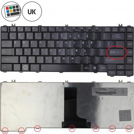 Toshiba Satellite C600 Klávesnice pro notebook - americká - US + zprostředkování servisu v ČR