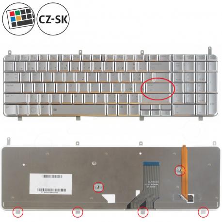 HP Pavilion dv8-1000 Klávesnice pro notebook - CZ / SK + doprava zdarma + zprostředkování servisu v ČR