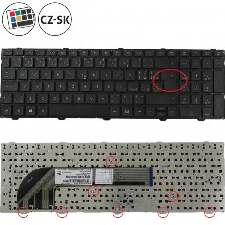 HP ProBook 4540s Klávesnice pro notebook - CZ / SK + doprava zdarma + zprostředkování servisu v ČR