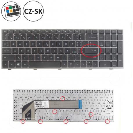 HP 4540s Klávesnice pro notebook - CZ / SK + doprava zdarma + zprostředkování servisu v ČR