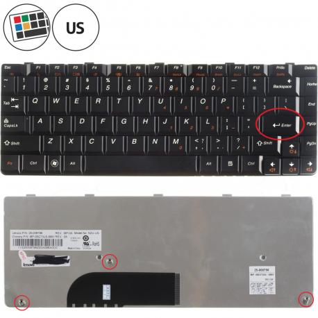 Lenovo IdeaPad U350 Klávesnice pro notebook - americká - US + zprostředkování servisu v ČR