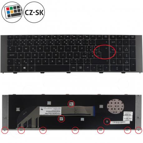 HP ProBook 4740s Klávesnice pro notebook - CZ / SK + doprava zdarma + zprostředkování servisu v ČR