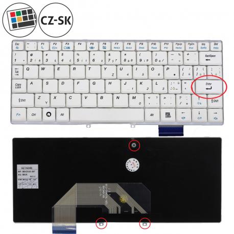 Lenovo IdeaPad S10e Klávesnice pro notebook - CZ / SK + zprostředkování servisu v ČR