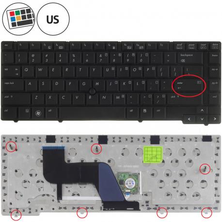 HP EliteBook 8440p Klávesnice pro notebook - americká - US + doprava zdarma + zprostředkování servisu v ČR