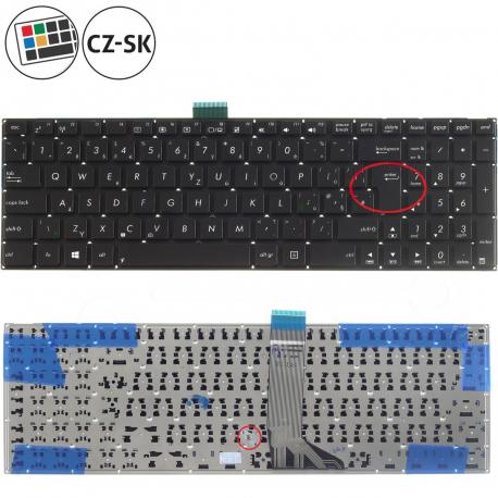 Asus X751L Klávesnice pro notebook - anglická - UK + doprava zdarma + zprostředkování servisu v ČR