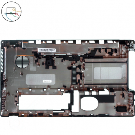 Acer Aspire 5253G Spodní vana pro notebook + doprava zdarma + zprostředkování servisu v ČR