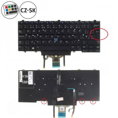 Dell Latitude E7450 Klávesnice pro notebook - CZ / SK + doprava zdarma + zprostředkování servisu v ČR