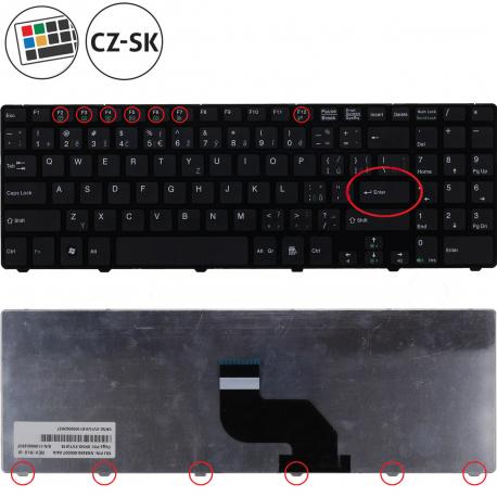 Medion Akoya P6631 Klávesnice pro notebook - CZ / SK + doprava zdarma + zprostředkování servisu v ČR
