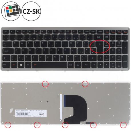 Lenovo IdeaPad Z500A Klávesnice pro notebook - CZ / SK + doprava zdarma + zprostředkování servisu v ČR