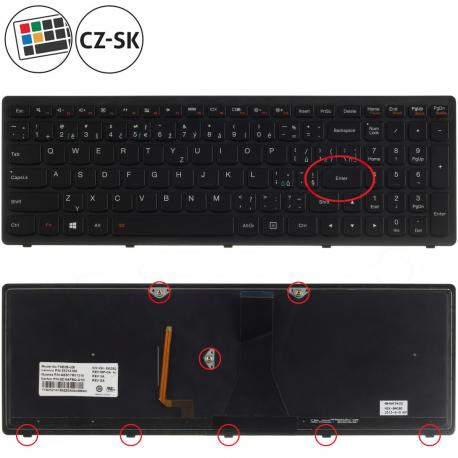 Lenovo IdeaPad G500s Touch Klávesnice pro notebook - CZ / SK + doprava zdarma + zprostředkování servisu v ČR