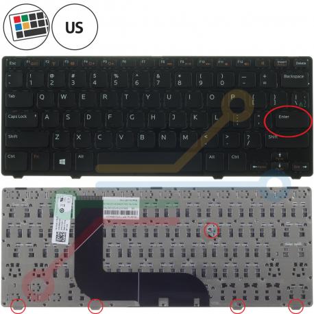 Dell Inspiron 14Z 5423 Klávesnice pro notebook - americká - US + zprostředkování servisu v ČR