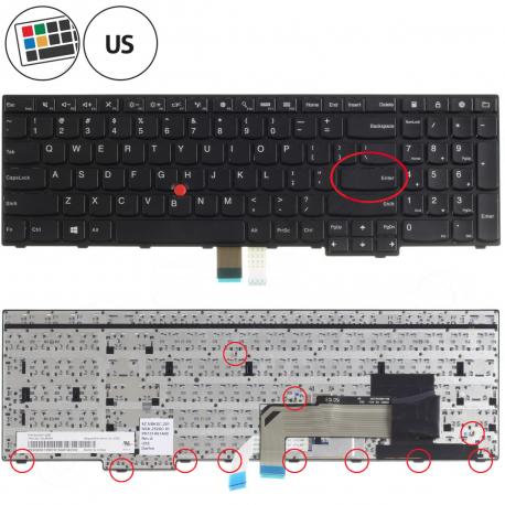 Lenovo W540 Klávesnice pro notebook - americká - US + doprava zdarma + zprostředkování servisu v ČR