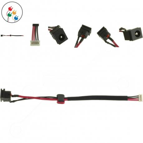 Toshiba Satellite Pro L650 Napájecí konektor pro notebook - 4 piny s připojovacím kabelem + zprostředkování servisu v ČR