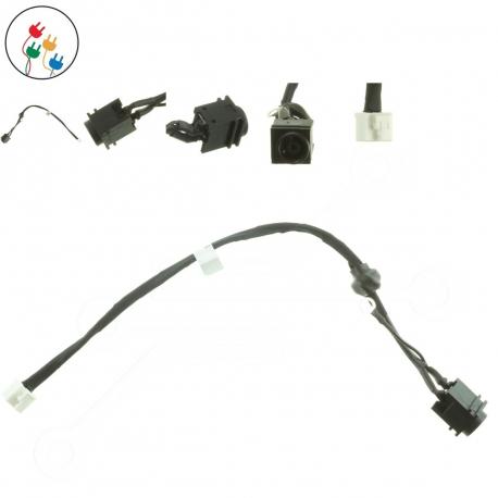 Sony Vaio VGN-FW51JF Napájecí konektor - dc jack pro notebook - délka 3 cm 2 piny s připojovacím kabelem + zprostředkování servisu v ČR