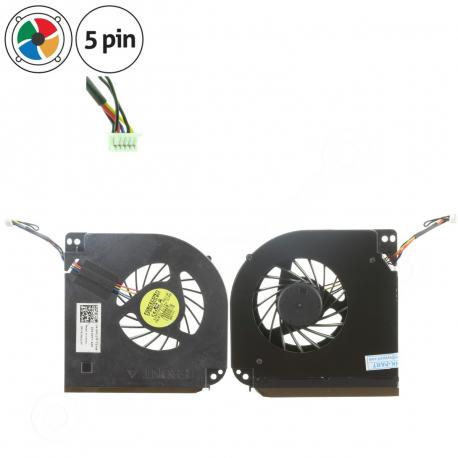 Dell Precision M6600 Ventilátor pro notebook - 5 pin plast + zprostředkování servisu v ČR