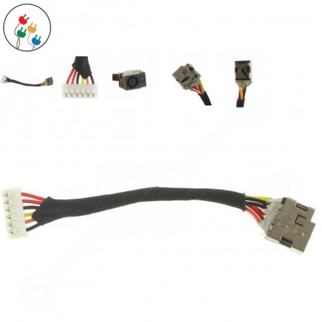 Compaq Presario CQ60 Napájecí konektor pro notebook - 6 pinů s připojovacím kabelem + zprostředkování servisu v ČR