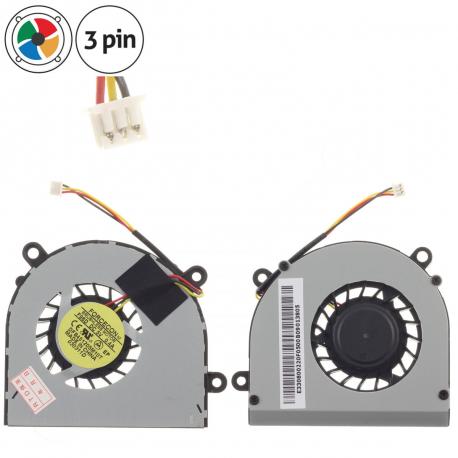 MSI GE620DX Ventilátor pro notebook - 3 piny kov 3 díry na šroubky + zprostředkování servisu v ČR