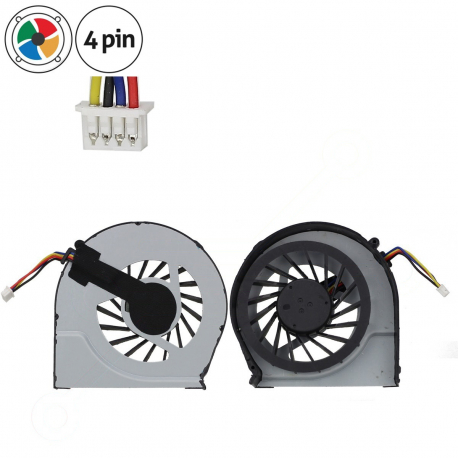 HP Pavilion g4 Ventilátor pro notebook - 4 piny vrtule je odkryta + zprostředkování servisu v ČR