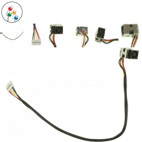 Compaq Presario CQ61 Napájecí konektor pro notebook - 6 pinů s připojovacím kabelem + zprostředkování servisu v ČR