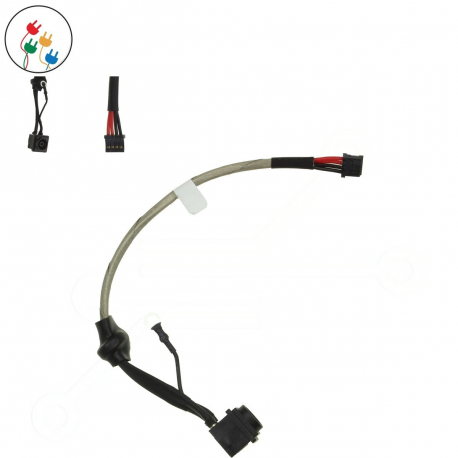 Sony Vaio VPC-F12M1E Napájecí konektor - dc jack pro notebook - délka 4 cm 4 piny s připojovacím kabelem + zprostředkování servisu v ČR